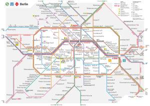 Liniennetz Berlin für Mikroabenteuer