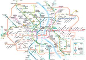 Liniennetz Köln für Mikroabenteuer